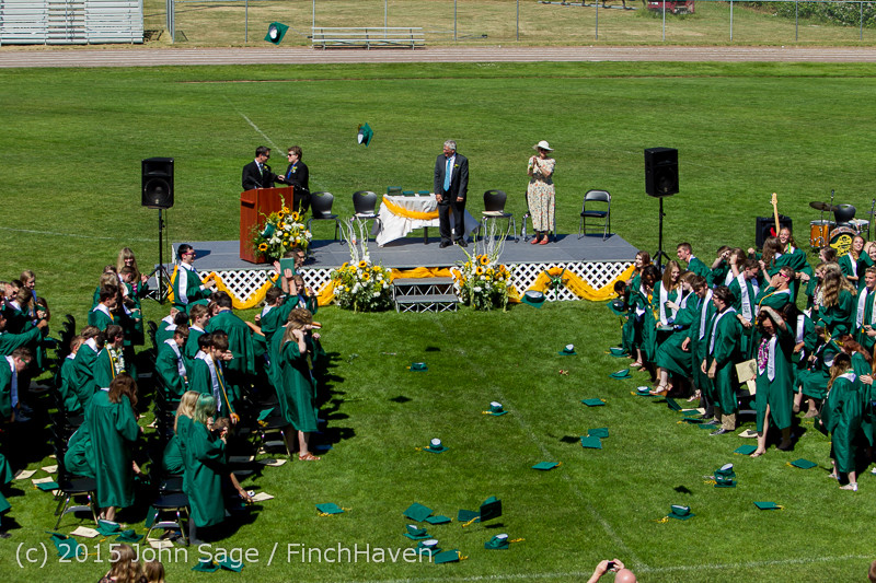 7858 Vashon Island High School Graduation 2015 061315
