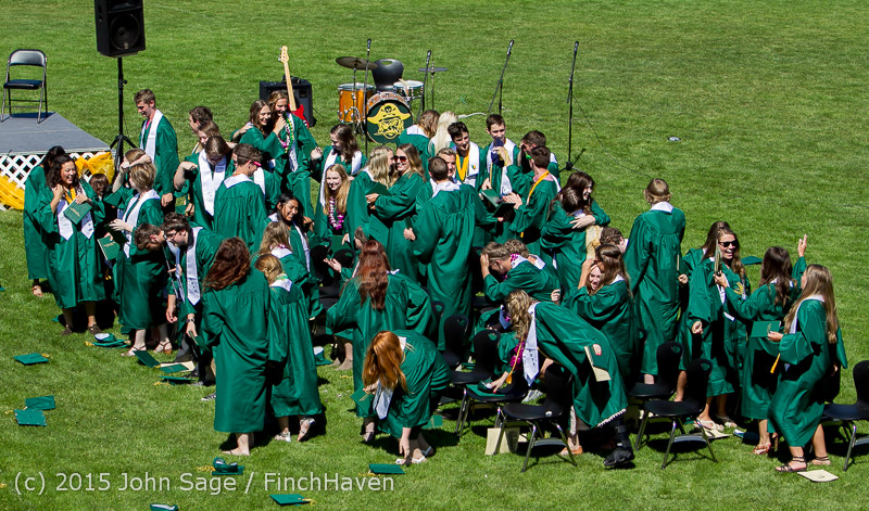 7873 Vashon Island High School Graduation 2015 061315