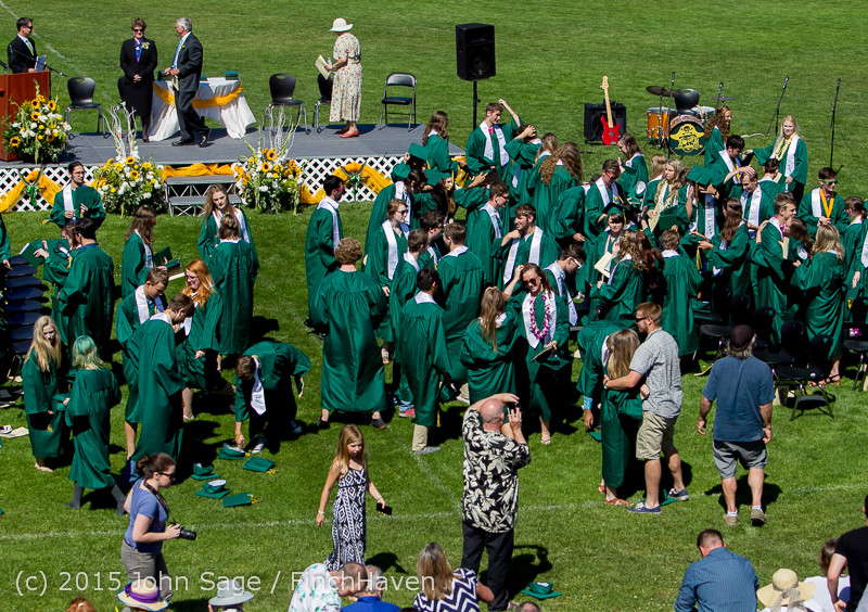 7901 Vashon Island High School Graduation 2015 061315