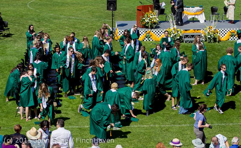 7906 Vashon Island High School Graduation 2015 061315