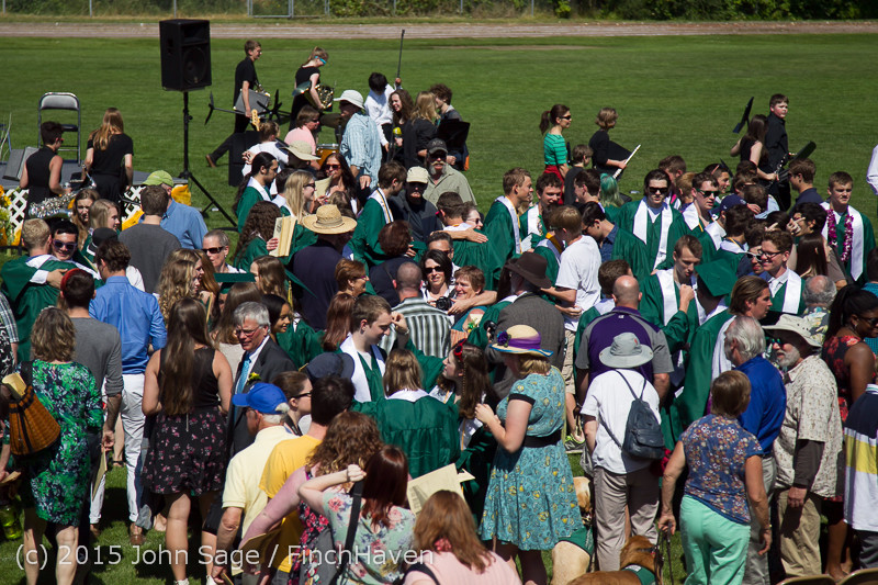 7910 Vashon Island High School Graduation 2015 061315