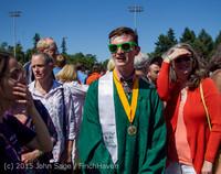 7923 Vashon Island High School Graduation 2015 061315