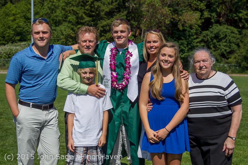 7962 Vashon Island High School Graduation 2015 061315