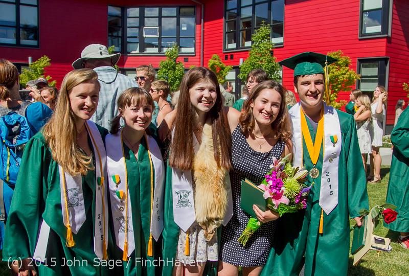 7987 Vashon Island High School Graduation 2015 061315