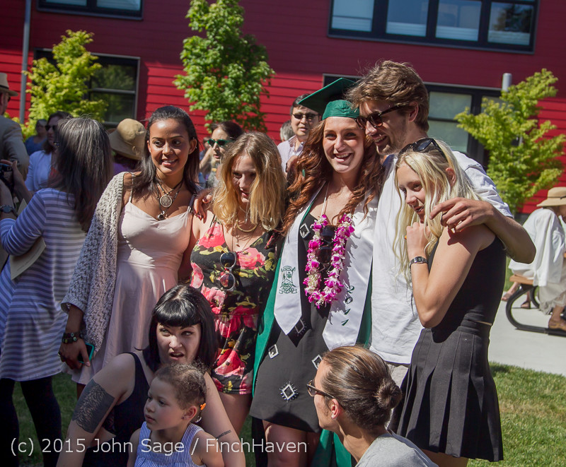 8011 Vashon Island High School Graduation 2015 061315