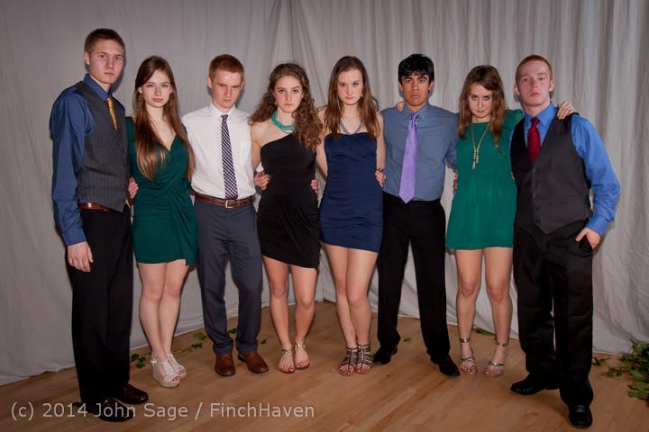 5458 Vashon Island High School Tolo Dance 2014 031514
