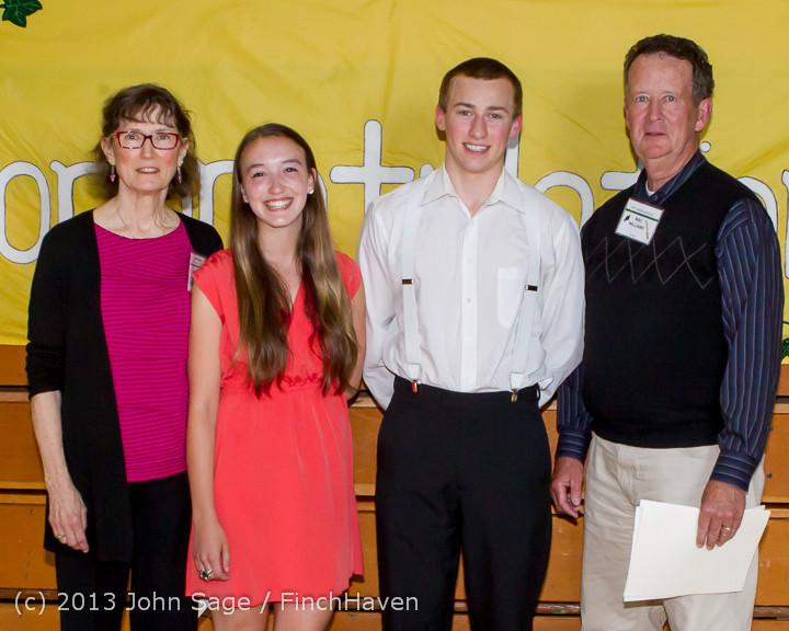 0138-b Vashon Community Scholarship Foundation Awards 2013 052913