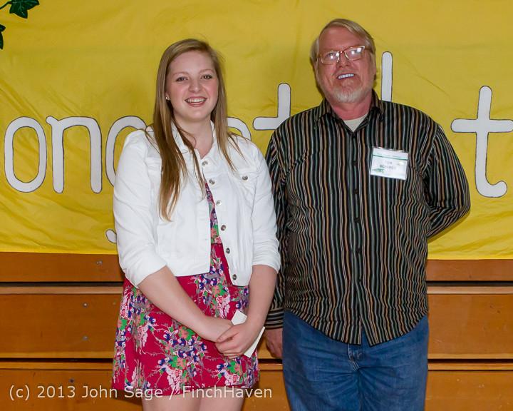 0152-b Vashon Community Scholarship Foundation Awards 2013 052913