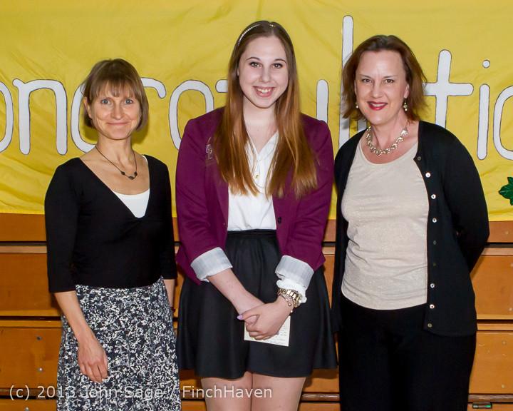 0235-b Vashon Community Scholarship Foundation Awards 2013 052913