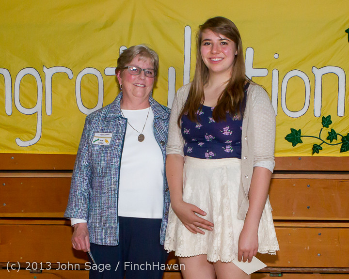 0248-b Vashon Community Scholarship Foundation Awards 2013 052913