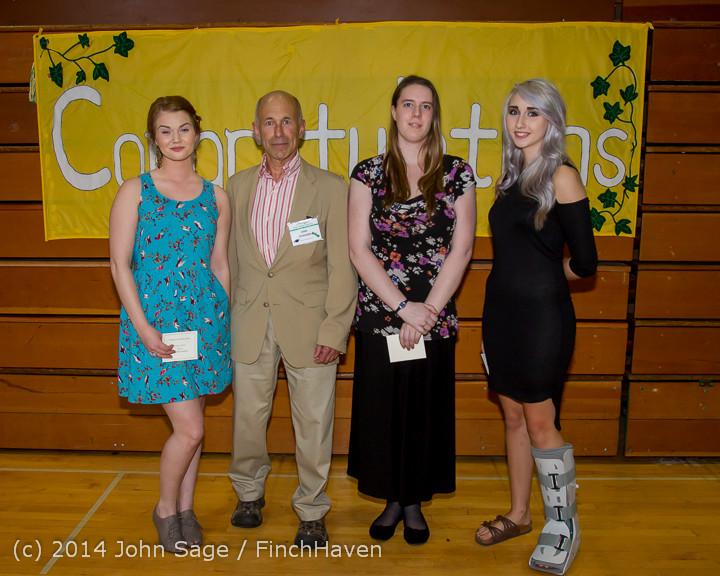 2107 Vashon Community Scholarship Foundation Awards 2014 052814