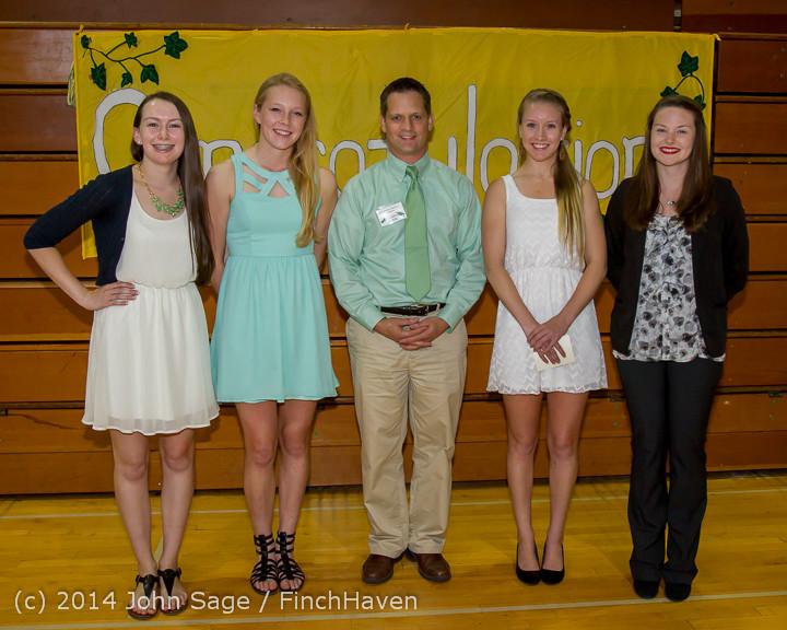 2108 Vashon Community Scholarship Foundation Awards 2014 052814