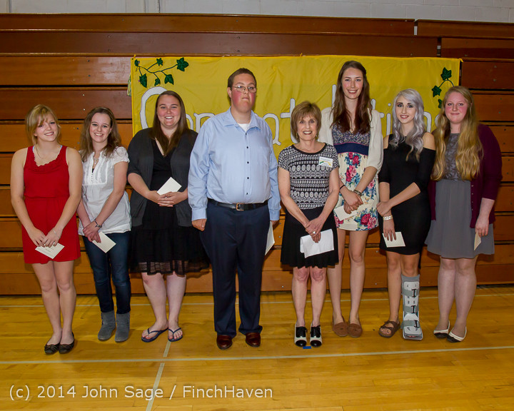 2128 Vashon Community Scholarship Foundation Awards 2014 052814