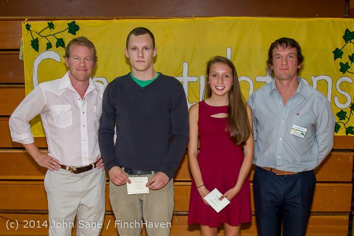 2144-b Vashon Community Scholarship Foundation Awards 2014 052814