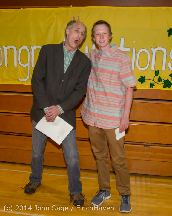 2213 Vashon Community Scholarship Foundation Awards 2014 052814