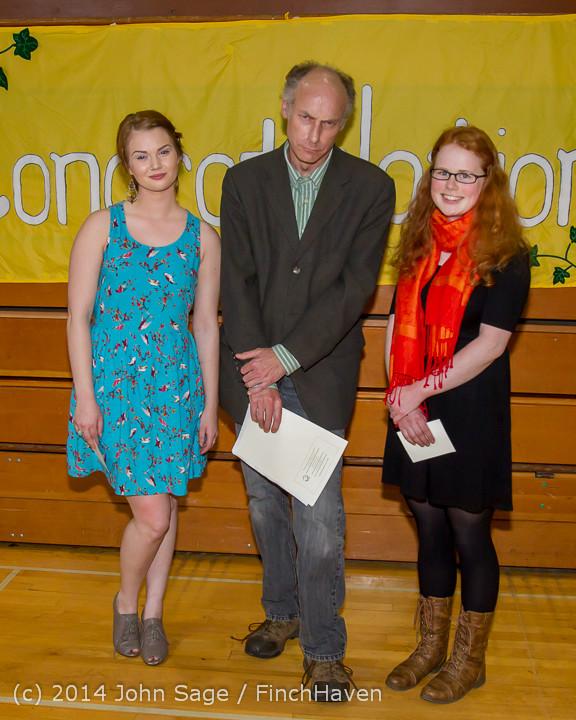 2215 Vashon Community Scholarship Foundation Awards 2014 052814