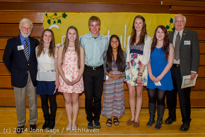 2223 Vashon Community Scholarship Foundation Awards 2014 052814