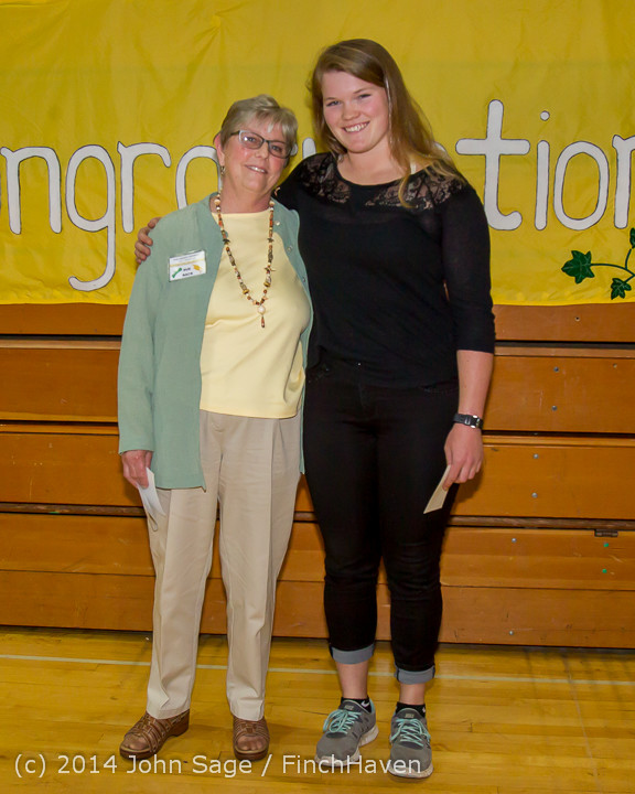 2264 Vashon Community Scholarship Foundation Awards 2014 052814