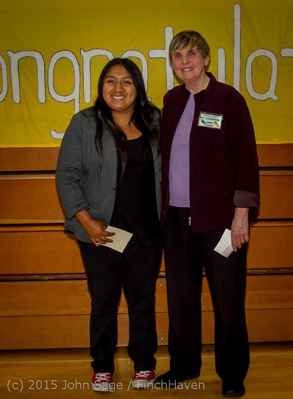 5758 Vashon Community Scholarship Foundation Awards 2015 052715