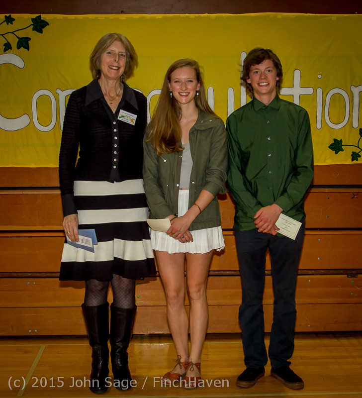 5765 Vashon Community Scholarship Foundation Awards 2015 052715
