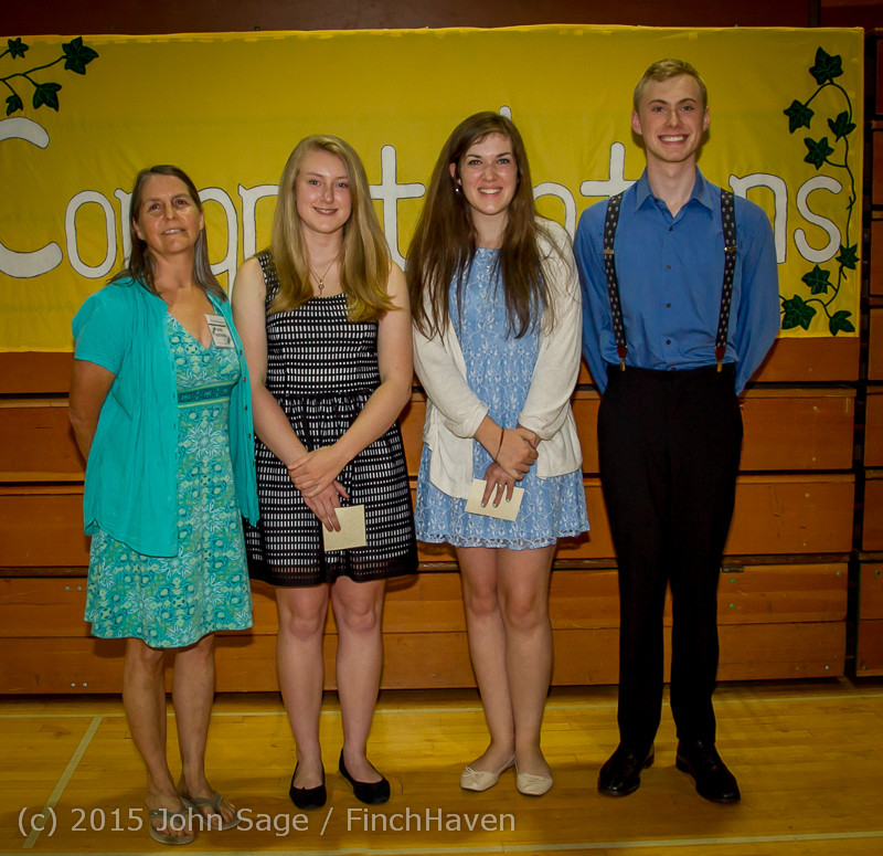 5799 Vashon Community Scholarship Foundation Awards 2015 052715