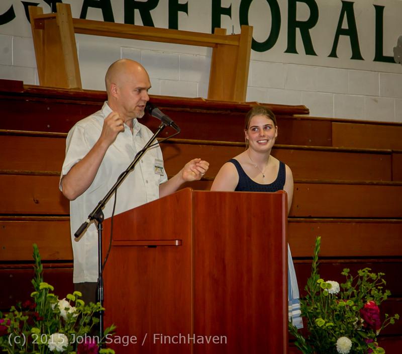 5868 Vashon Community Scholarship Foundation Awards 2015 052715