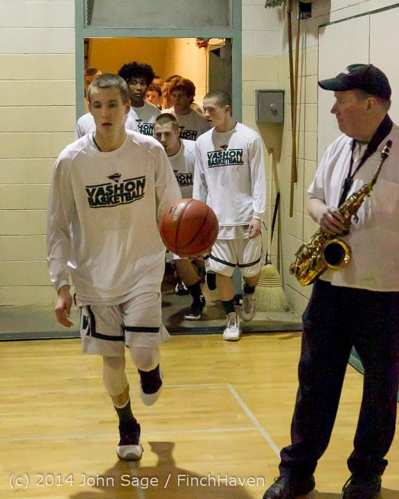 17642 VHS Boys Basketball Seniors Night 2014 021114