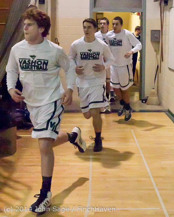 17658 VHS Boys Basketball Seniors Night 2014 021114