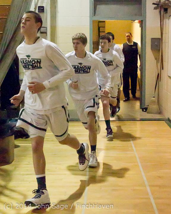 17667 VHS Boys Basketball Seniors Night 2014 021114