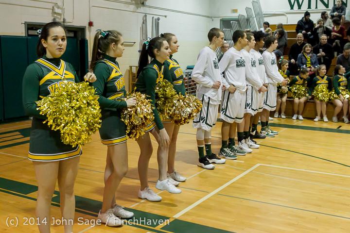 17701 VHS Boys Basketball Seniors Night 2014 021114