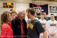 17757 VHS Boys Basketball Seniors Night 2014 021114
