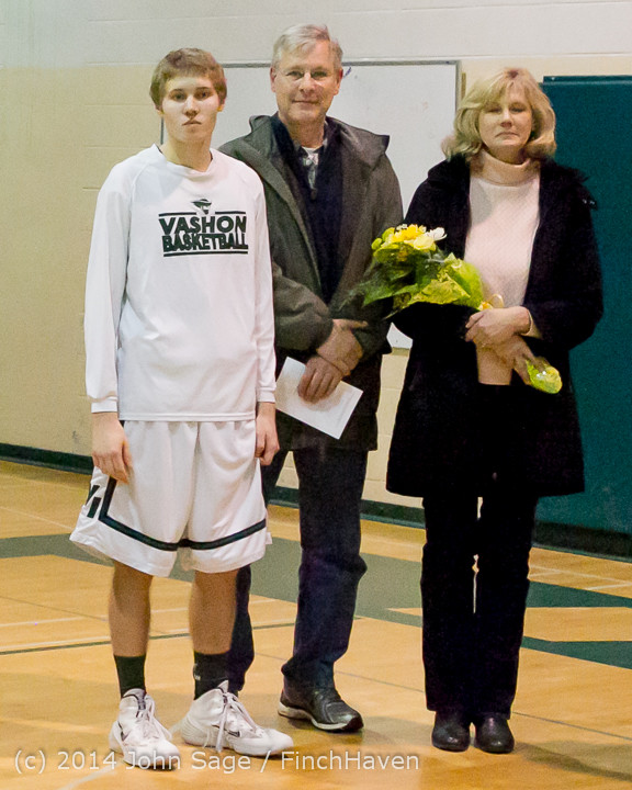17949 VHS Boys Basketball Seniors Night 2014 021114