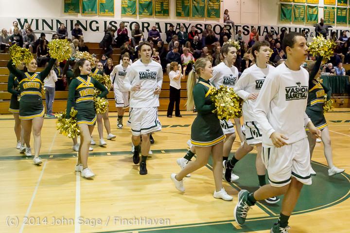 18164 VHS Boys Basketball Seniors Night 2014 021114