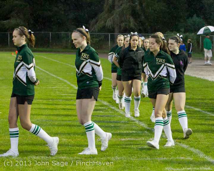 5904 VHS Fall Cheer 2013 at Football v Casc-Chr 092013