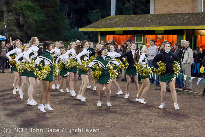 6860 VHS Fall Cheer 2013 at Football v Port Townsend 100413