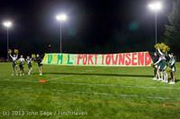 7512 VHS Fall Cheer 2013 at Football v Port Townsend 100413