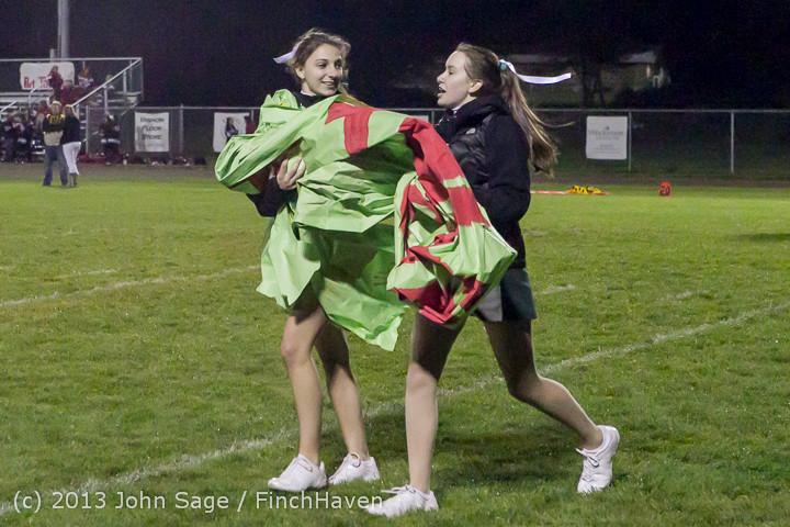 7582 VHS Fall Cheer 2013 at Football v Port Townsend 100413