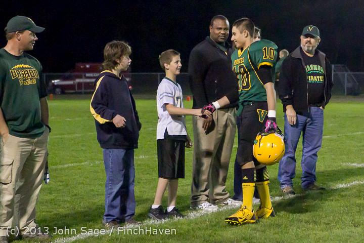21367 VHS Fall Cheer-Football Seniors Night 2013 101113