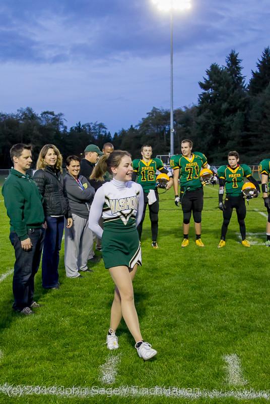 3881 VHS Football Fall Cheer Seniors Night 2014 103114