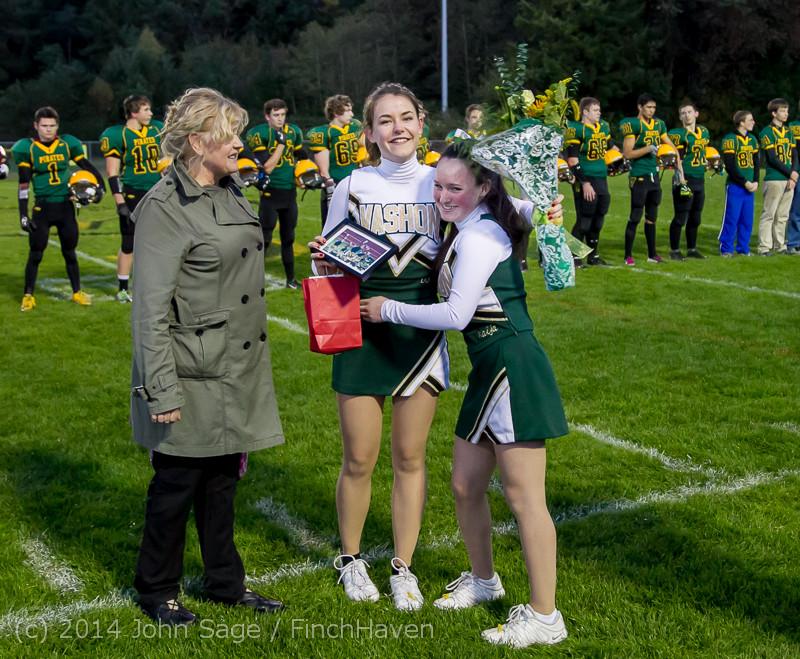 3892 VHS Football Fall Cheer Seniors Night 2014 103114
