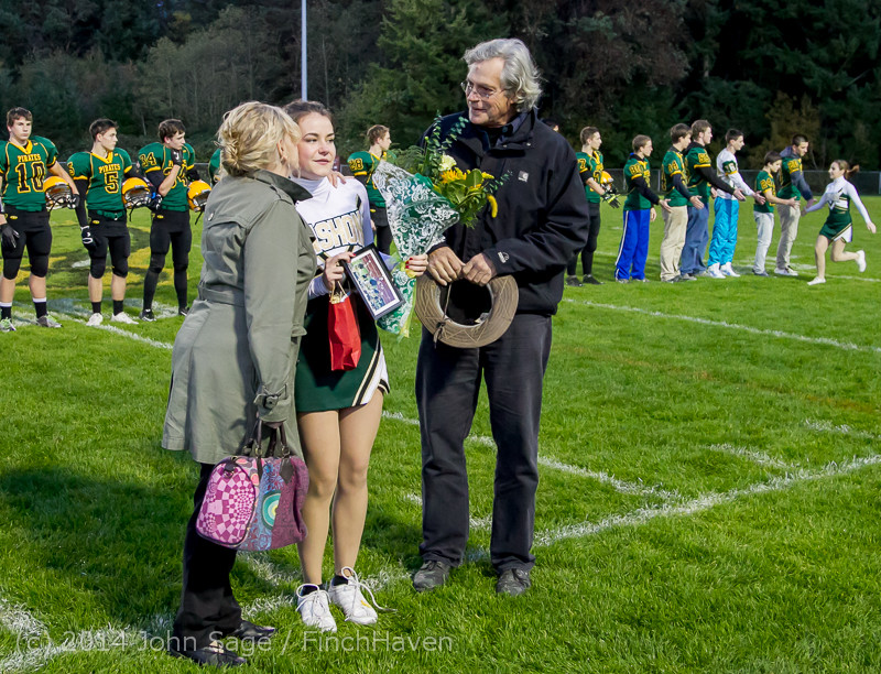 3901 VHS Football Fall Cheer Seniors Night 2014 103114