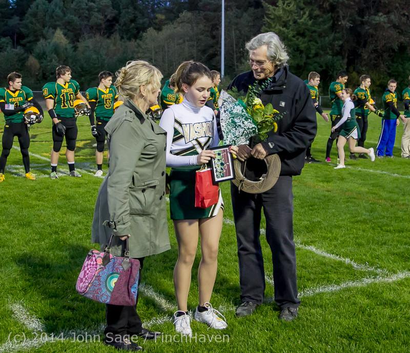 3905 VHS Football Fall Cheer Seniors Night 2014 103114