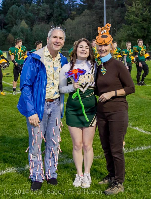 3955 VHS Football Fall Cheer Seniors Night 2014 103114