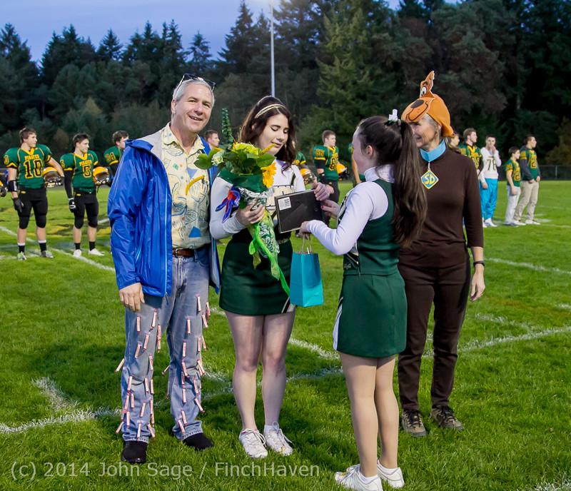 3966 VHS Football Fall Cheer Seniors Night 2014 103114