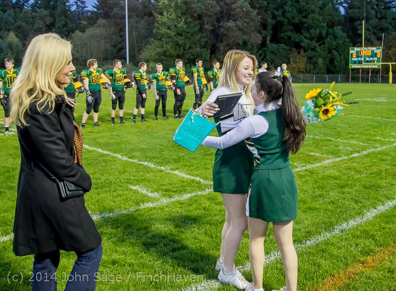 4030 VHS Football Fall Cheer Seniors Night 2014 103114