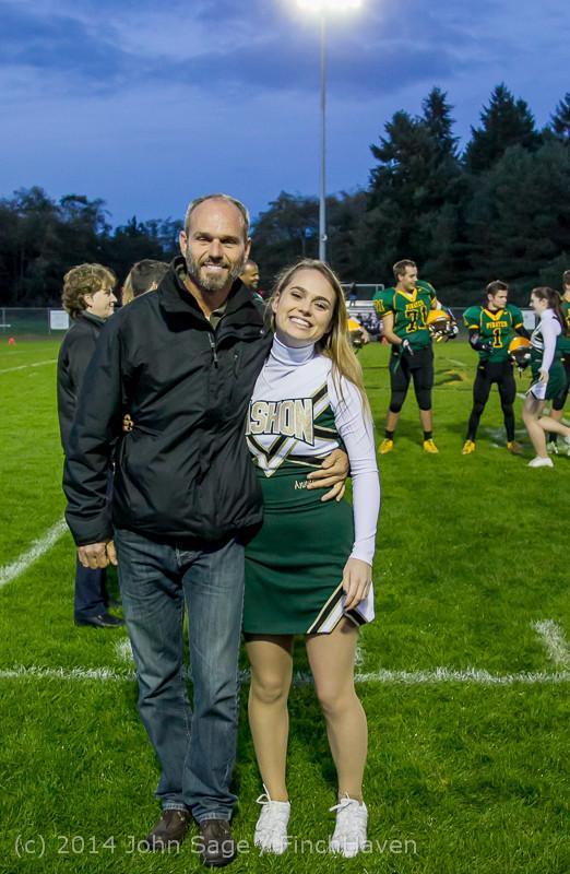 4054 VHS Football Fall Cheer Seniors Night 2014 103114