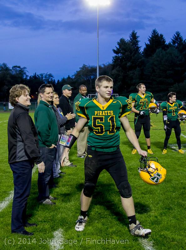 4136 VHS Football Fall Cheer Seniors Night 2014 103114