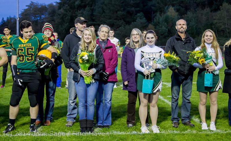 4205 VHS Football Fall Cheer Seniors Night 2014 103114