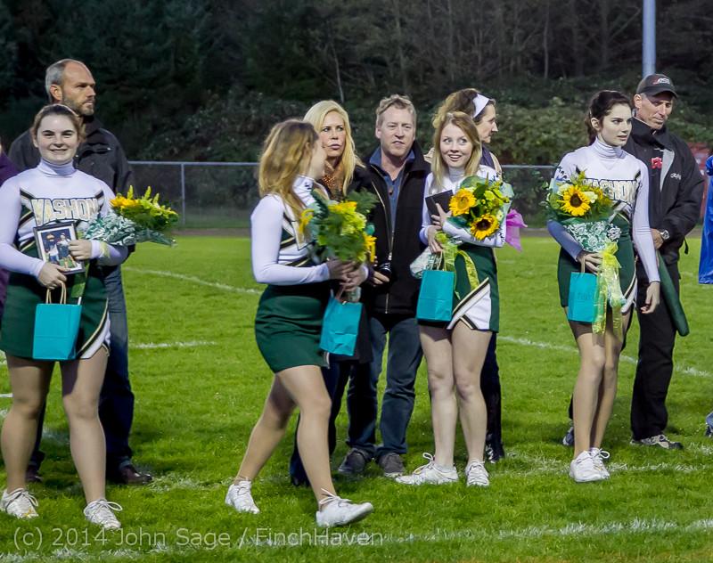 4258 VHS Football Fall Cheer Seniors Night 2014 103114