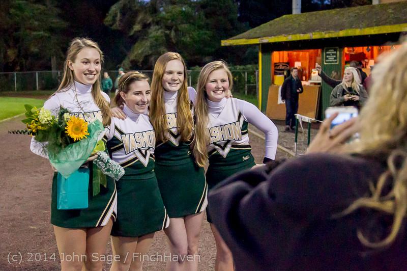 4291 VHS Football Fall Cheer Seniors Night 2014 103114